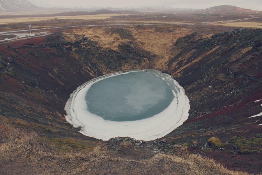 kerid-crater