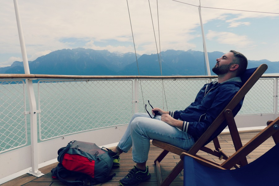 croisière sur le lac léman