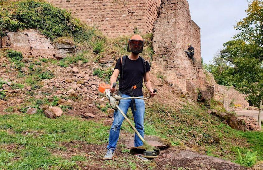atelier restauration châteaux forts Alsace