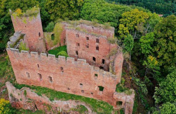 Le château du Lutzelbourg