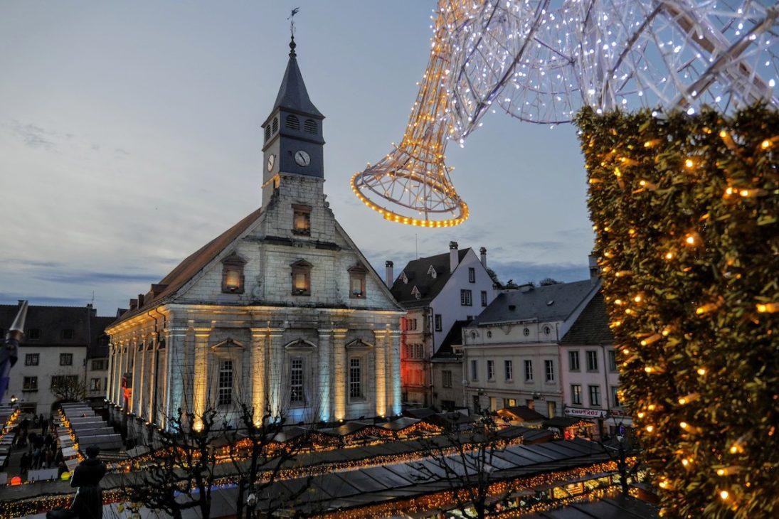 Visiter le marché de Montbéliard